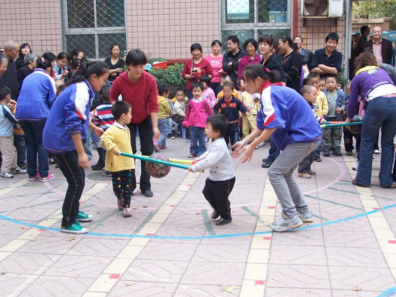 幼儿秋季运动会